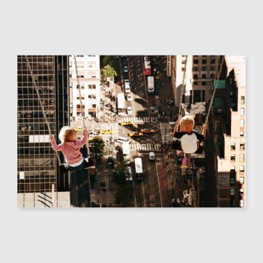 NY City-Manhattan - Poster 90x60 cm