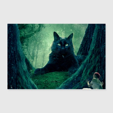 The guardian of the forest - Poster 36 x 24 (90x60 cm)
