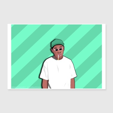 Tyler The Creator Poster - Poster 36 x 24 (90x60 cm)