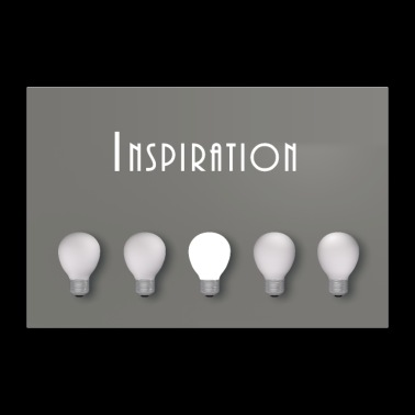 inspiration - Poster 36 x 24 (90x60 cm)