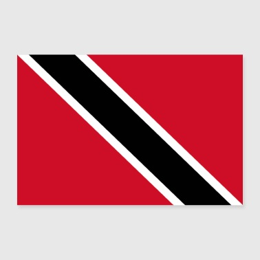 Trinidad and Tobago flag - Poster 36 x 24 (90x60 cm)