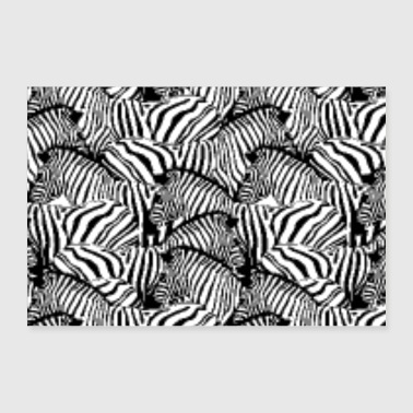 Decoration Murale Zebre A Commander En Ligne Spreadshirt