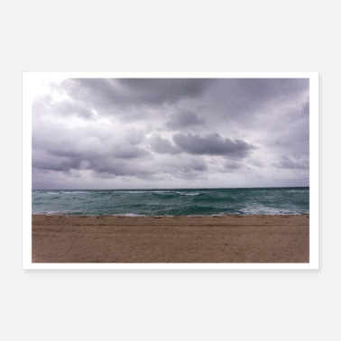 Strand Das Meer - Poster