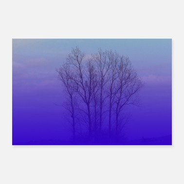 Group Blue Hour - 30x20 cm Poster