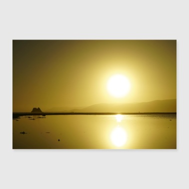 beautiful sunset, gift idea - 30x20 cm Poster