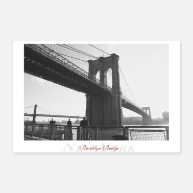 Tower Bridge Brooklyn Bridge (Poster) - 30x20 cm Poster