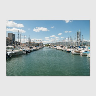 Franse haven - Poster 30x20 cm