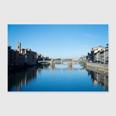 Bridges of Florence Italy V - 30x20 cm Poster