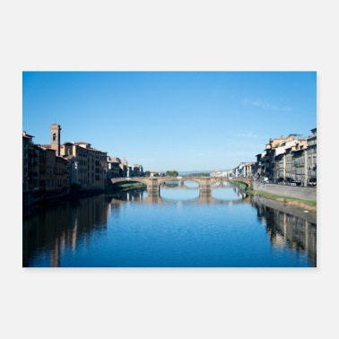 Italia Bridges of Florence Italia V - Juliste 30x20 cm
