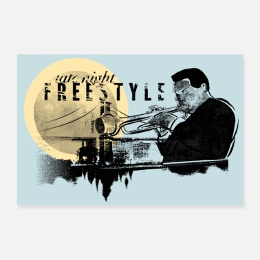 Jazz Freestyle Jazz - Poster