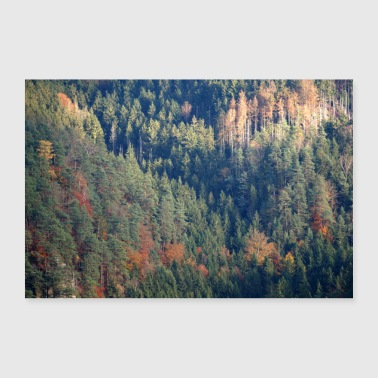 Tree Forest poster - 30x20 cm Poster