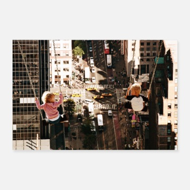 I Love New York NY City-Manhattan - Poster 30x20 cm