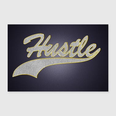 Wealth Hustle Jewelry Chain Pendant Bling Bling Poster - 30x20 cm Poster
