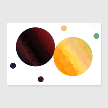 planet - 30x20 cm Poster