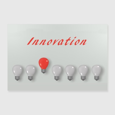 innovation - Poster 30 x 20 cm