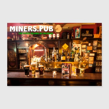 Poster Miners pub - 30x20 cm Poster