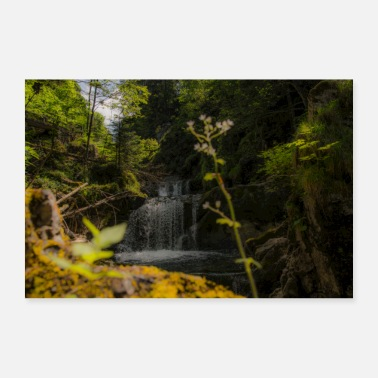 Fall Rottach Falls - Poster