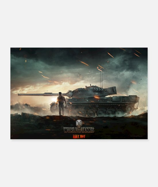 PC Postrar - World of Tanks WoT Epic Fight - Postrar vit