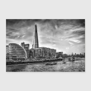 The Shard Building London - 30x20 cm Poster