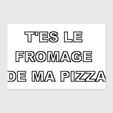 PIZZA - Poster 30 x 20 cm