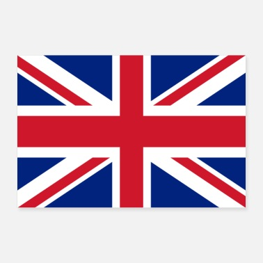 Kingdom United Kingdom flag - 30x20 cm Poster