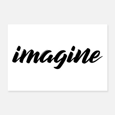 Present imagine - 30x20 cm Poster