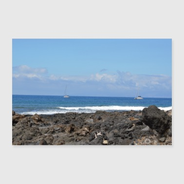 Costa Adeje on Tenerife - 30x20 cm Poster