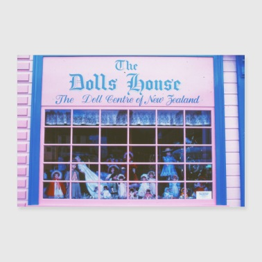 The Dolls House / Analog Photography - Poster 30x20 cm