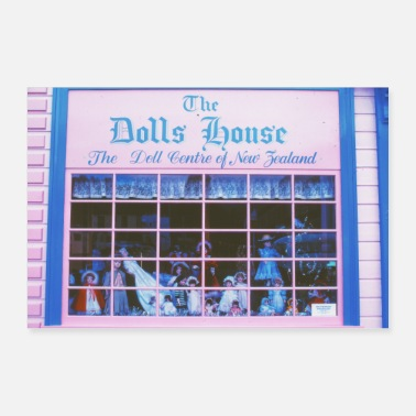House Dolls House / Analog Photography - Poster 30x20 cm