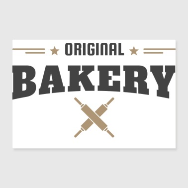 Vintage Bakers Shop Bakery Gift Idea - 30x20 cm Poster