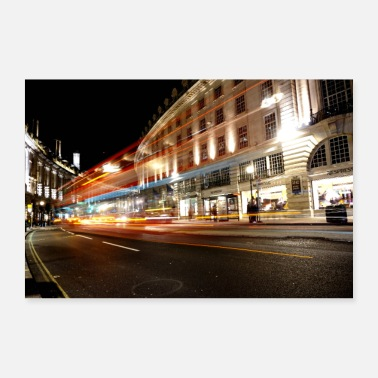 Städte Lights at Regent Street - Poster 30x20 cm