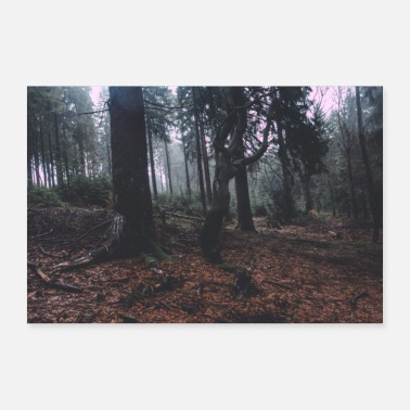 Forest 4 - 30x20 cm Poster