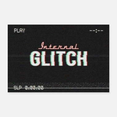 International Internal Glitch - Poster