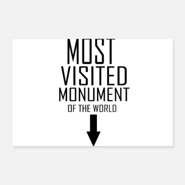 Monument monument - Poster