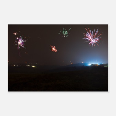 Fireworks New Year's Eve 2019/2020 - Poster