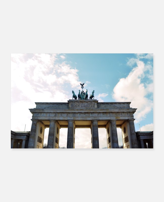 Germania Posters - Brandenburger Tor - Posters wit