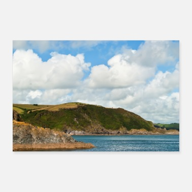 Harbour East of Mevagissey - Poster