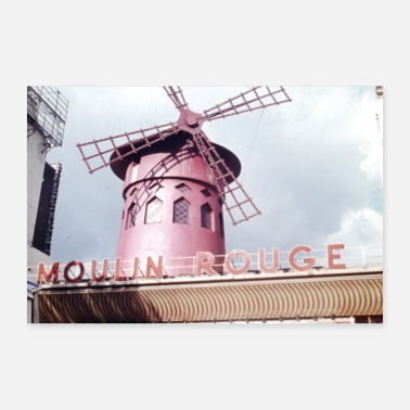 Kaupunginosassa Moulin Rouge - Juliste