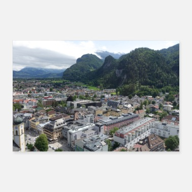 Slr View of Kufstein - Poster