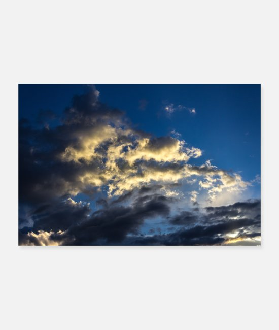 Starry Sky Posters - sky and clouds - Posters white