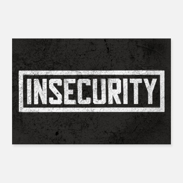 Humour Insecurity - Poster - Poster