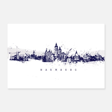 Naumburger Skyline - Poster