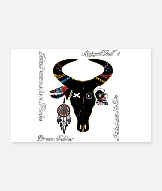 Animal Welfare Posters - buffalo - Posters white