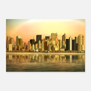 New Age SKYLINE New York - Poster
