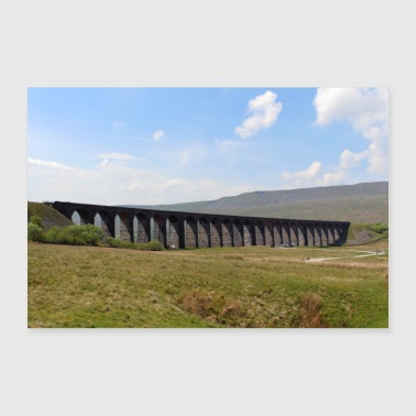 Ribblehead Viaduct - landscape - 30x20 cm Poster