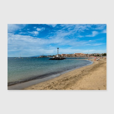 Beach section Los Cristianos - 30x20 cm Poster