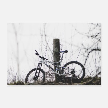 Mountainbike mountainbike - Poster