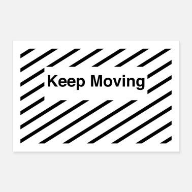 Move Keep moving - Poster
