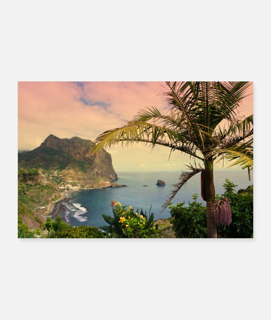 Mountains Posters - Madeira - Posters white