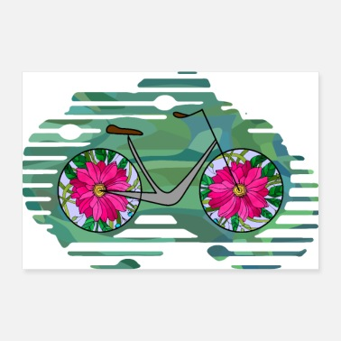 Homme Bicyclette - Poster